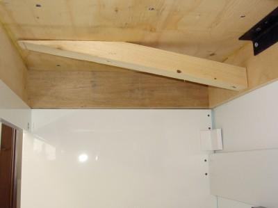 Interieur comptoir de bois