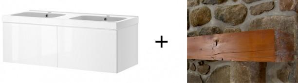IKEA GODMORGON et tablette de foyer